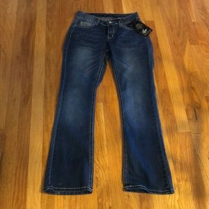 NEW Love Indigo Sparkly Pocket Jeans